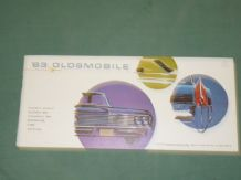 "OLDSMOBILE 63 ""There's Something Extra..."" Small format Sales Brochure"